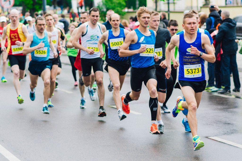 Snel herstellen na marathon
