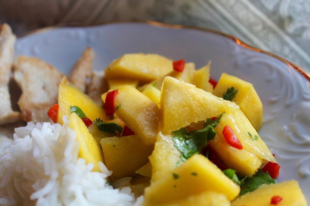 Myrceen wordt ook aangetroffen in mango's
